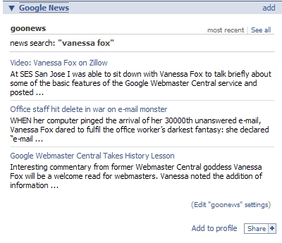 Google News on Facebook