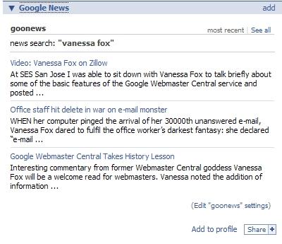 Google News on Facebook