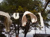 Laundry on the Line in the Backyard of the Little Shanty Folk Art Gallery