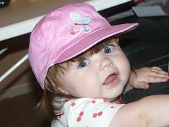 10-26-07 Emily's new hat 1