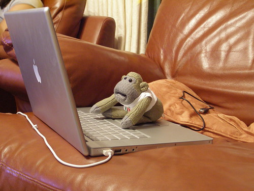 Monkey on a mac