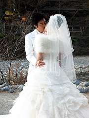 Kamikochi Wedding Kiss