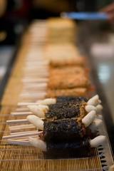 Insadong: Bokehlicious (centrax) Tags: food 50mm bokeh korea seoul stick insadong ggochi