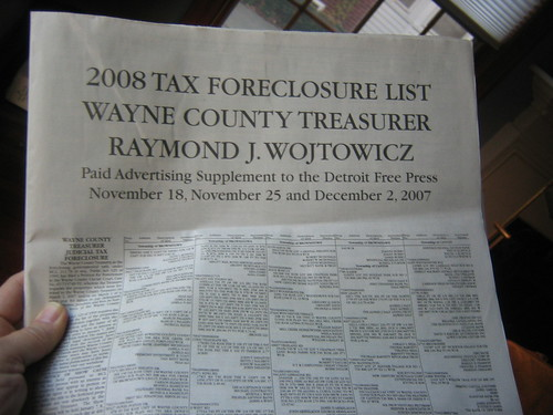 foreclosure list