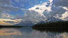 Grand Tetons (Michael Bandy) Tags: wyoming grandtetons jacksonlake mywinners anawesomeshot flickrchallengegroup flickrchallengewinner excellentphotographerawards goldstaraward