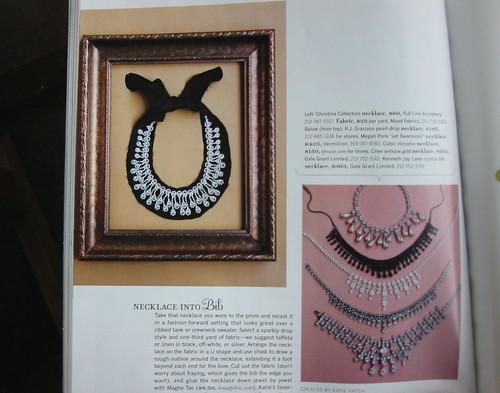 Costume jewelry ideas from the Dec/Jan Blueprint