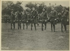 Reeve041682 (otisarchives2) Tags: wounded wwi iowa rifles worldwari ww1 crutches usarmy worldwar1 drills amputees unitedstatesarmy