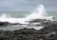 Bundaberg coast (Mangiwau) Tags: sea seascape flow lava coast waves wave australia stormy east depression queensland coastline volcanic cyclone breathtaking basalt bundaberg seaspray cyclonic wonderworld bargara aplusphoto wowiekazowie coolestphotographers