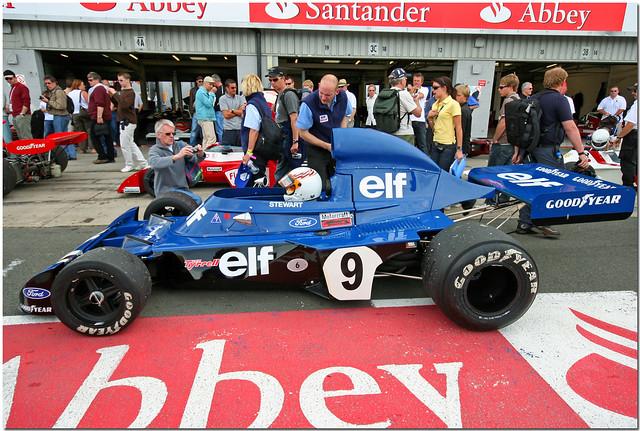 ELF Tyrrell 003 F1 silverstone