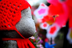 ojizo-san (since73) Tags: city red urban temple tokyo wishes zojoji   shibakoen gizo rebelxti eos400d eoskissdigitalx colourartaward