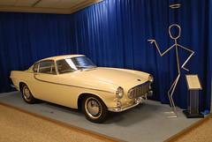 Volvo P1800 (hkkbs) Tags: car museum göteborg volvo sweden gothenburg 100views sverige nikkor nikond200 20mmf28d
