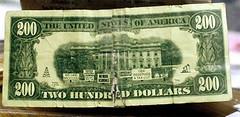 Fake $200 Banknote
