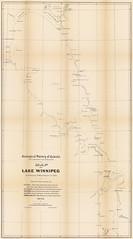 Map of Lake Winnipeg, Manitoba (1878) (Manitoba Historical Maps) Tags: history maps manitoba geological lakewinnipeg cartographymanitobahistory