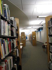 stacks, Fond Du Lac Library