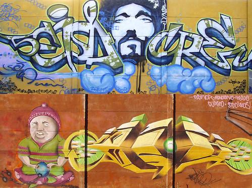 graffitis dibujos. Callejeros