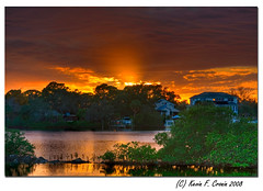 Sunset Over The Anclote River (KayCpics) Tags: sunset tampabay tarponsprings naturesfinest blueribbonwinner supershot ancloteriver abigfave platinumphoto anawesomeshot diamondclassphotographer kaycpics goldstaraward