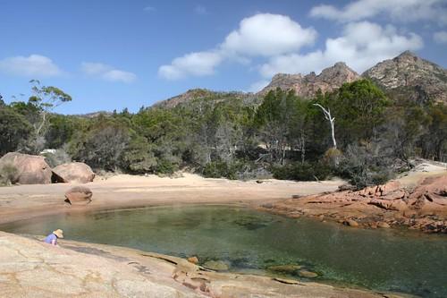 Honeymoon Bay, Freixenet National Park...