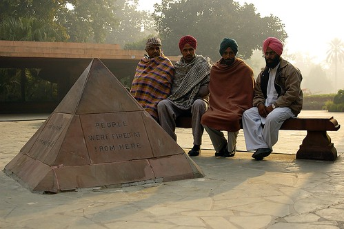 Jallianwala Bagh - People were fired at from here