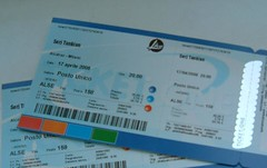 17 Aprile 08 - Serj to Milan!