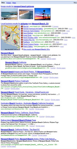 Google Universal Search: Multiple Blends
