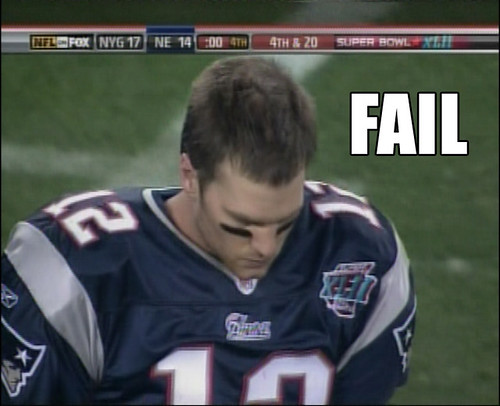 Tom Brady Fail - flickr/stallio