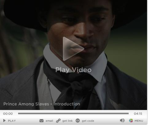 PRINCE AMONG SLAVES MOVIE ON PBS
