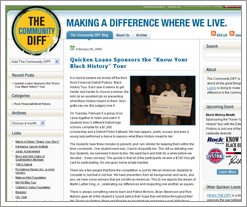 The DIFF has a new partner blog - The Community DIFF from Quicken Loans! by whatsthediffblog, on Flickr