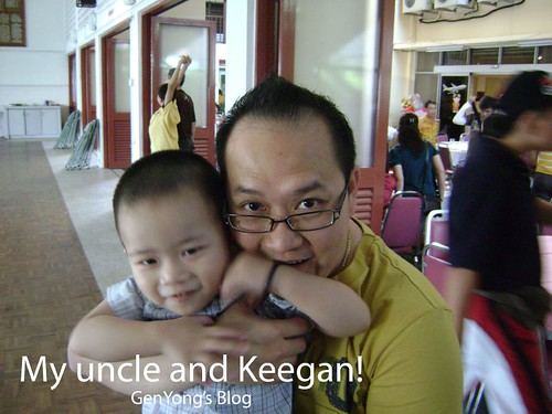 My uncle and Keegan