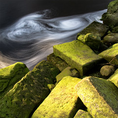 An Image Can Tell A Story (jasontheaker) Tags: old winter building water stone forest moss stream frost dam yorkshire mould dilapidated dales eddies landscapephotography jasontheaker thruscrossreservoir washburnvalley
