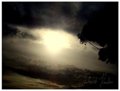 Violent Moodswings (silent-realm) Tags: sky sun nature clouds sunrise soft darkness fluffy atmophere