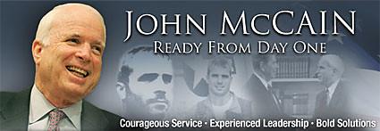 John McCain Ready from Day One