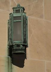 Aged Verdigris Copper Lantern