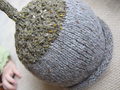 Tweedy Acorn Hat