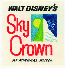 "Walt Disney's ""Sky Crown"" Logo 4"