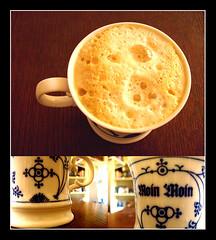 Coffeehousefeeling (renee.hawk) Tags: coffee cafe kaffee coffeehouse moinmoin kaffeehaus chinablue