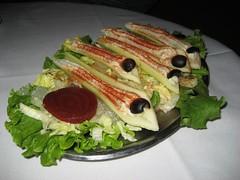 Musso & Frank Grill's legendary stuffed celery. (02/27/2008)