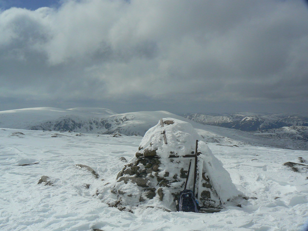Summit of Carn an t-Sagairt Mor