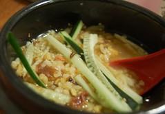 Dinner: ochazuke