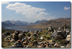 Cairns (Ross Forsyth - tigerfastimagery) Tags: canon scotland highlands scenery stones loch cairns overlook lochloyne