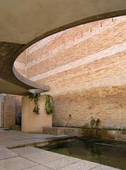 carlo scarpa, architect: biennale sculpture garden, giardino delle sculture, venice 1950-1952