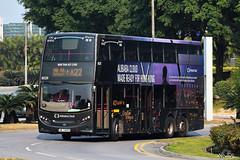 CTB Cityflyer Alexander Dennis E500 MMC 12m Coach (ADL bodywork) (kenli54) Tags: ctb citybus cityflyer 8020 alexander dennis adl e500 enviro enviro500 e50d e500mmc mmc coach se3495 alibaba advertising advertisement