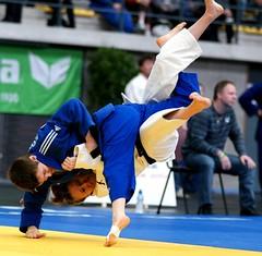 Amelie Rosseneu in actie tijdens Belgisch Kampioenschap 2008