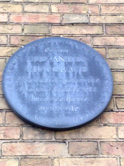 Photo of Alexander Musgrave grey plaque