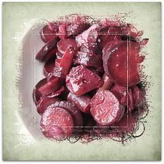 Braised Purple Heirloom Carrots