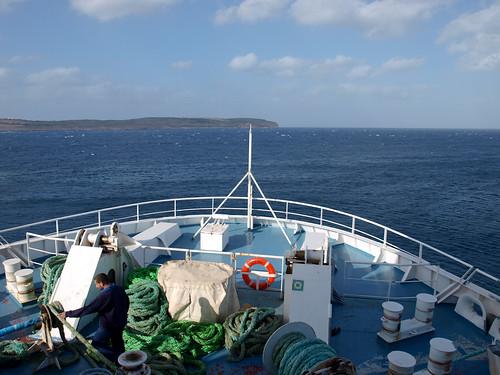 Gozo - Vista desde el Ferry