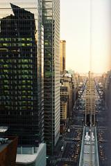 Big City (a l e x . k) Tags: street new york nyc light building film skyline square hotel mirror pentax manhattan times intercontinental lx fa43mmf19