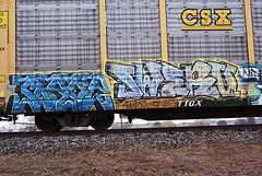 nave swerv (gary buesee) Tags: train graffiti nave amc freight atb oms wkt swerv