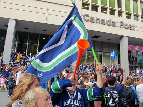 Vancouver Canucks victory party_8