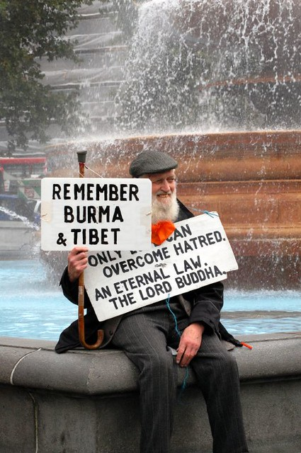 Burma Protest London