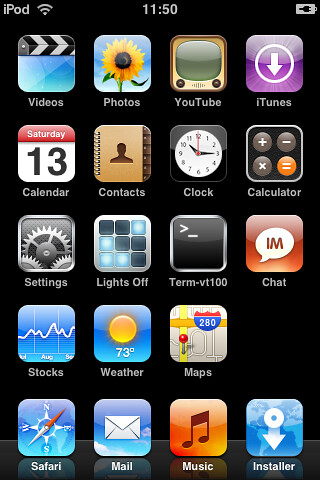 iPod Touch Screenshots (Group)